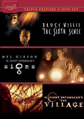 SIGNS/THE VILLAGE/THE SIXTH SENSE BY WILLIS,BRUCE (DVD)